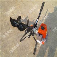 混合油动力挖坑机 植树栽树机 30直径钻坑机
