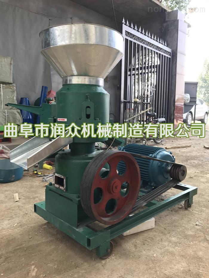 RZ-KL-120-家禽饲料造粒机 家用秸秆制粒机 饲料颗粒机