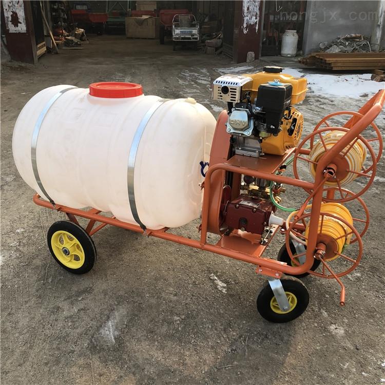 果园打药喷雾机 农用高压打药管 拉管农药机
