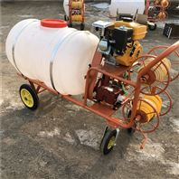 200升药桶打药机 拉管式汽油喷雾器