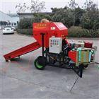 YK5552青储饲料压捆机 青储打包机厂家