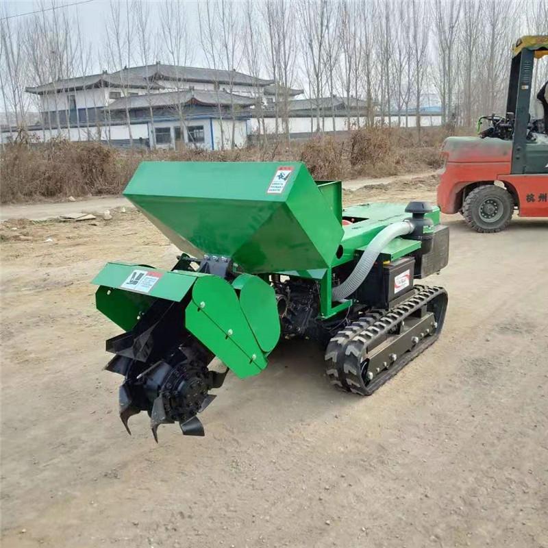 FX-KGJ-履带式自走式果树开沟旋耕机热销