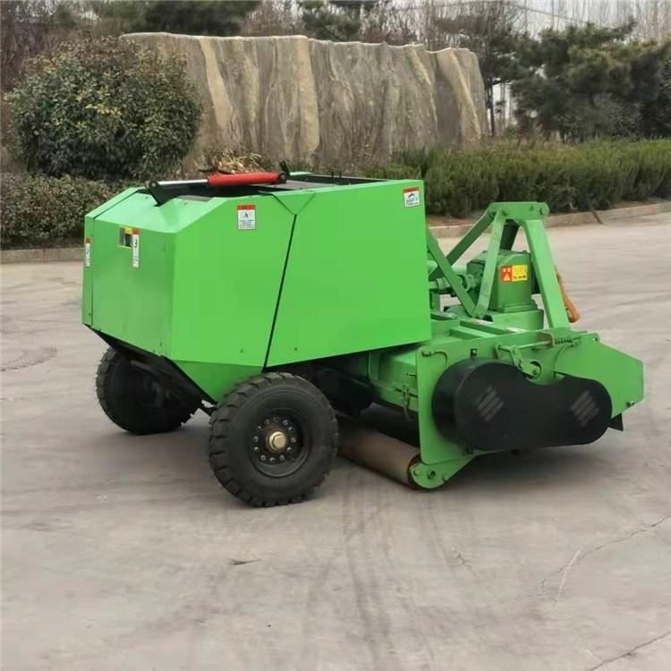 秸秆回收式打捆机 饲草回收粉碎打捆机