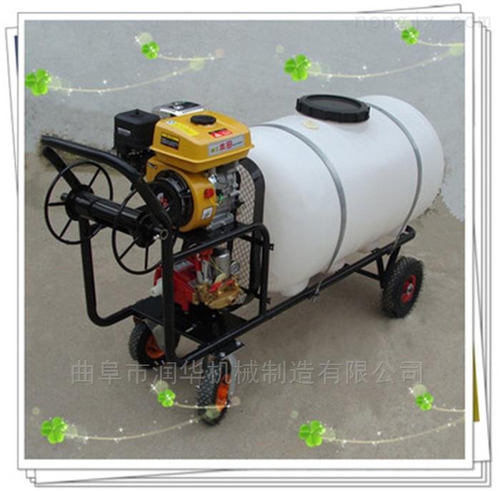 棉花地灭草高压喷雾器 拉管式果园喷药机