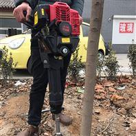 广东苗圃树木移栽机 手提轻便起树机