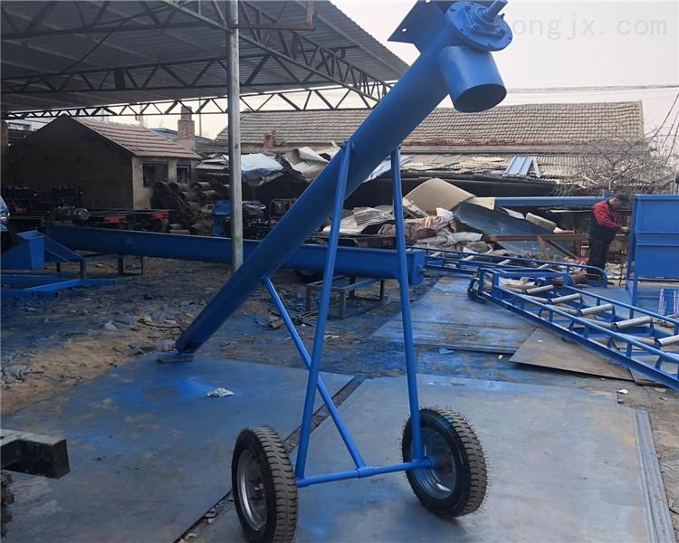 倾斜式圆管螺旋提升机