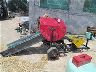 青储打包机 畜牧养殖牧草青储机 打捆包膜机