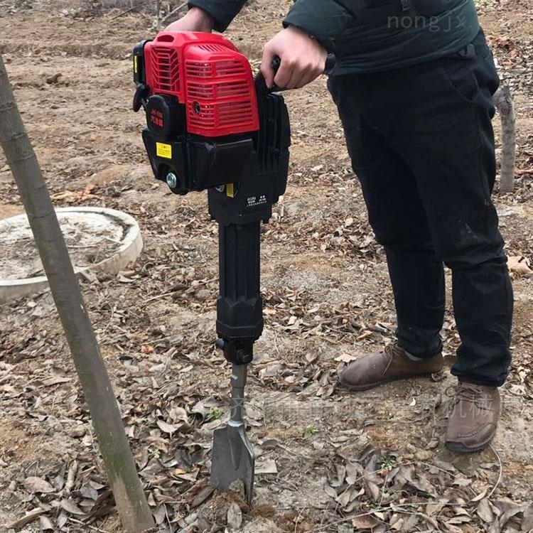 移树挖树挖坑机 多型号汽油链条式挖树机