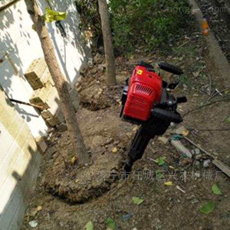 带土球铲头式挖树机 果树移植机