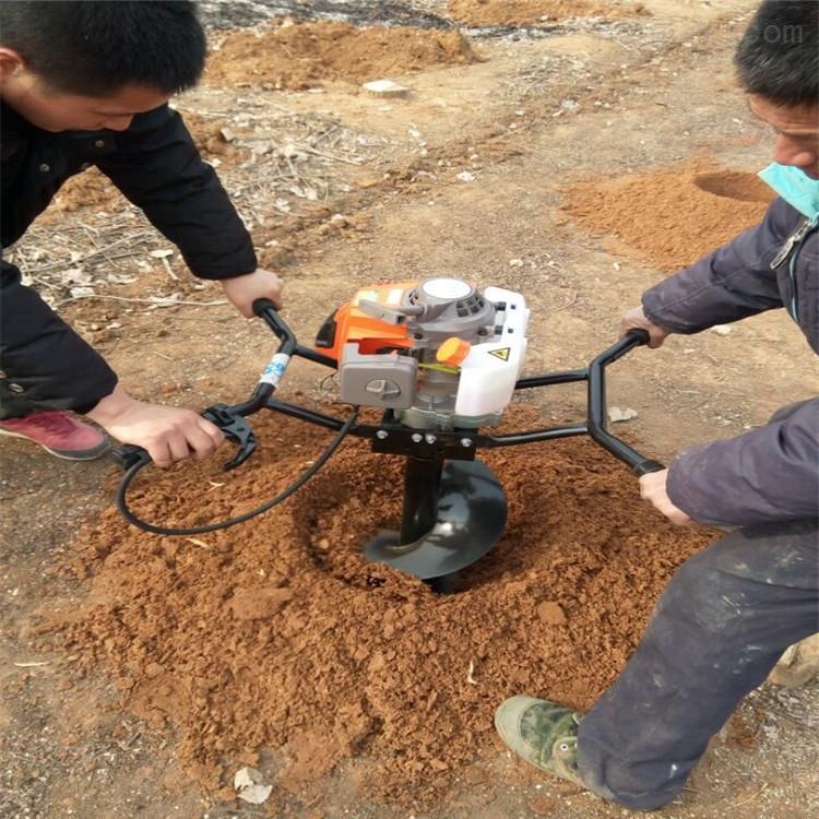 打眼鉆坑機 種果樹挖坑機 汽油立柱打坑機