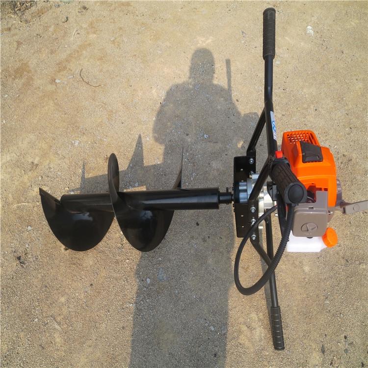 隆鑫发动机挖坑机 大直径打坑机 刨坑钻眼机