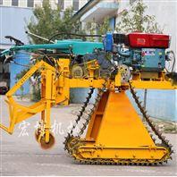 22马力柴油机大葱大姜收获机挖葱机