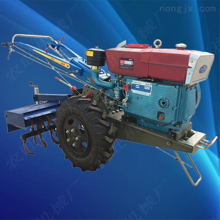 柴油多功能拖拉机 农用开沟旋耕机