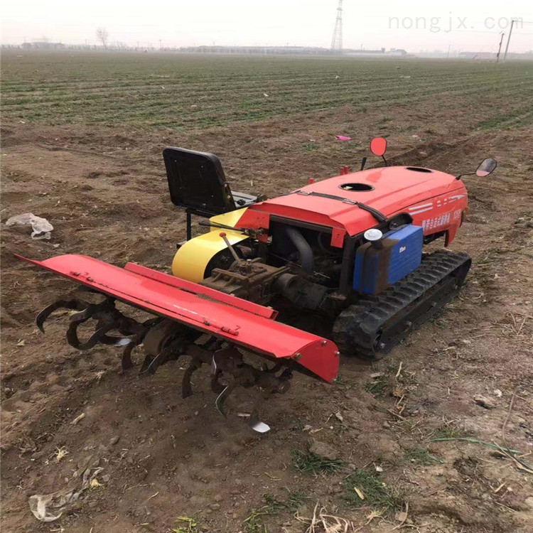 給果樹施肥回填機 有座椅履帶式開溝機廠家