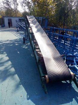 槽型皮带运输机玉米小麦专用输送机