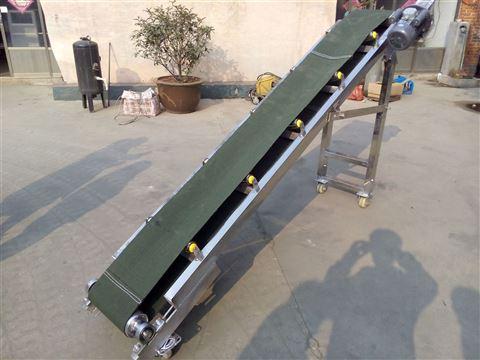 厂家直销移动式皮带输送机粮食上料机