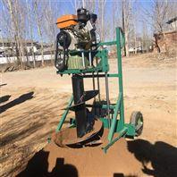 林业轻便式挖坑机 荒坡绿化植树打坑机厂家