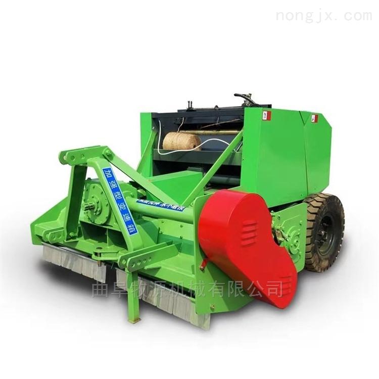 玉米秸秆圆捆机 回收秸秆打捆机