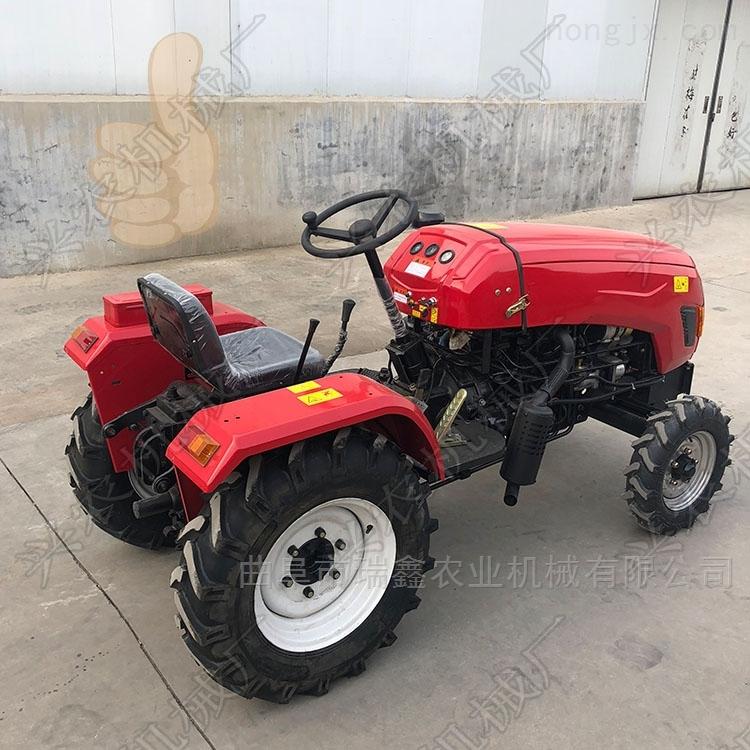 农用四轮旋耕机 四轮驱动果园管理机