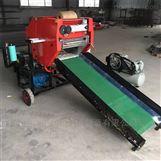 芦苇秸秆青贮打包机 加工青饲料打捆包膜机