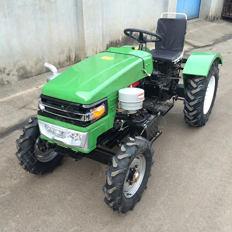 农用四轮拖拉机旋耕机 家用小型四轮犁地机