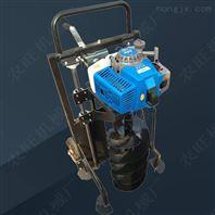 多功能立柱式打孔机 四轮悬挂大支架挖坑机