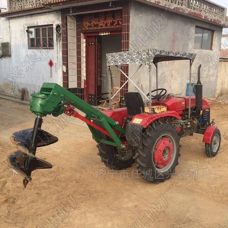 手提式汽油挖坑机 大直径植树打眼机