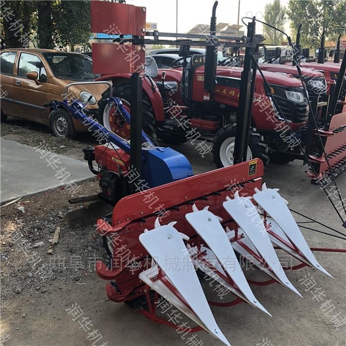 手扶車汽油牧草收割機 高效率玉米秸割曬機