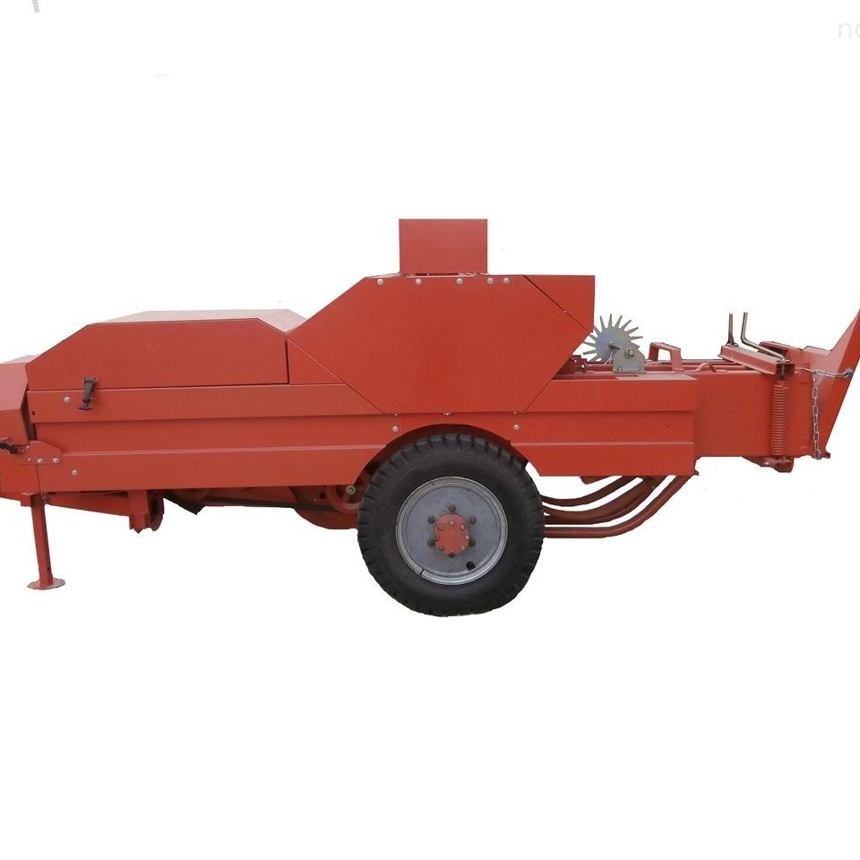 玉米秸秆牵引式打捆机