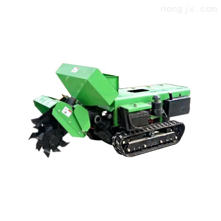 旋刀式割草机水稻 操作简单