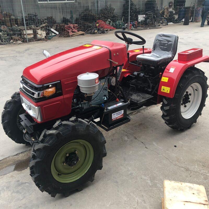 四驱柴油新型农用四轮多缸大马力拖拉机