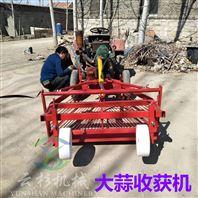 热销批发四轮前置大蒜收获机农用高效挖蒜机