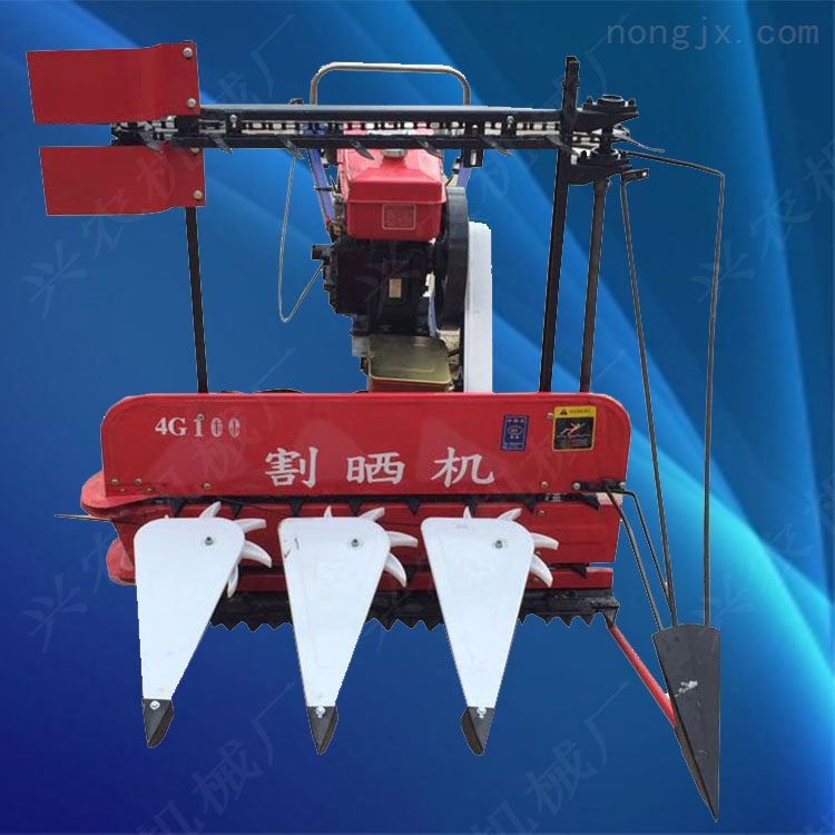 水稻小麦收割机 牧草割晒机