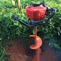 手提式打眼挖坑机  林业推车式打坑机