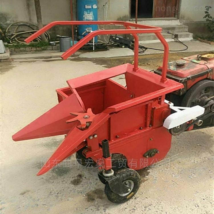 小型自走式玉米收割机 收玉米机器