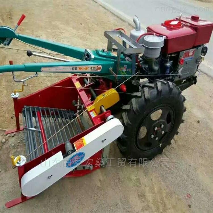 大棚柴油12马力手扶旋耕机