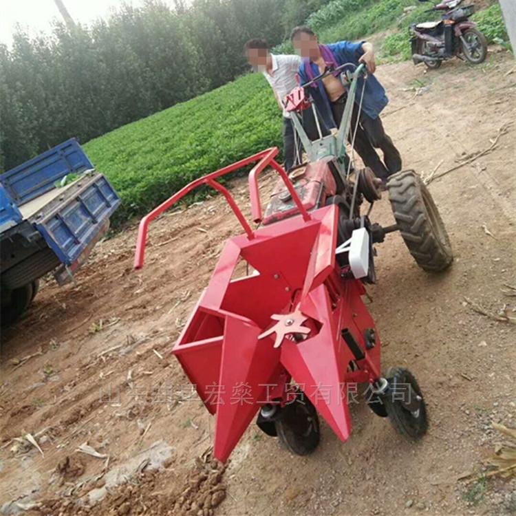 安徽小型单行玉米收割机