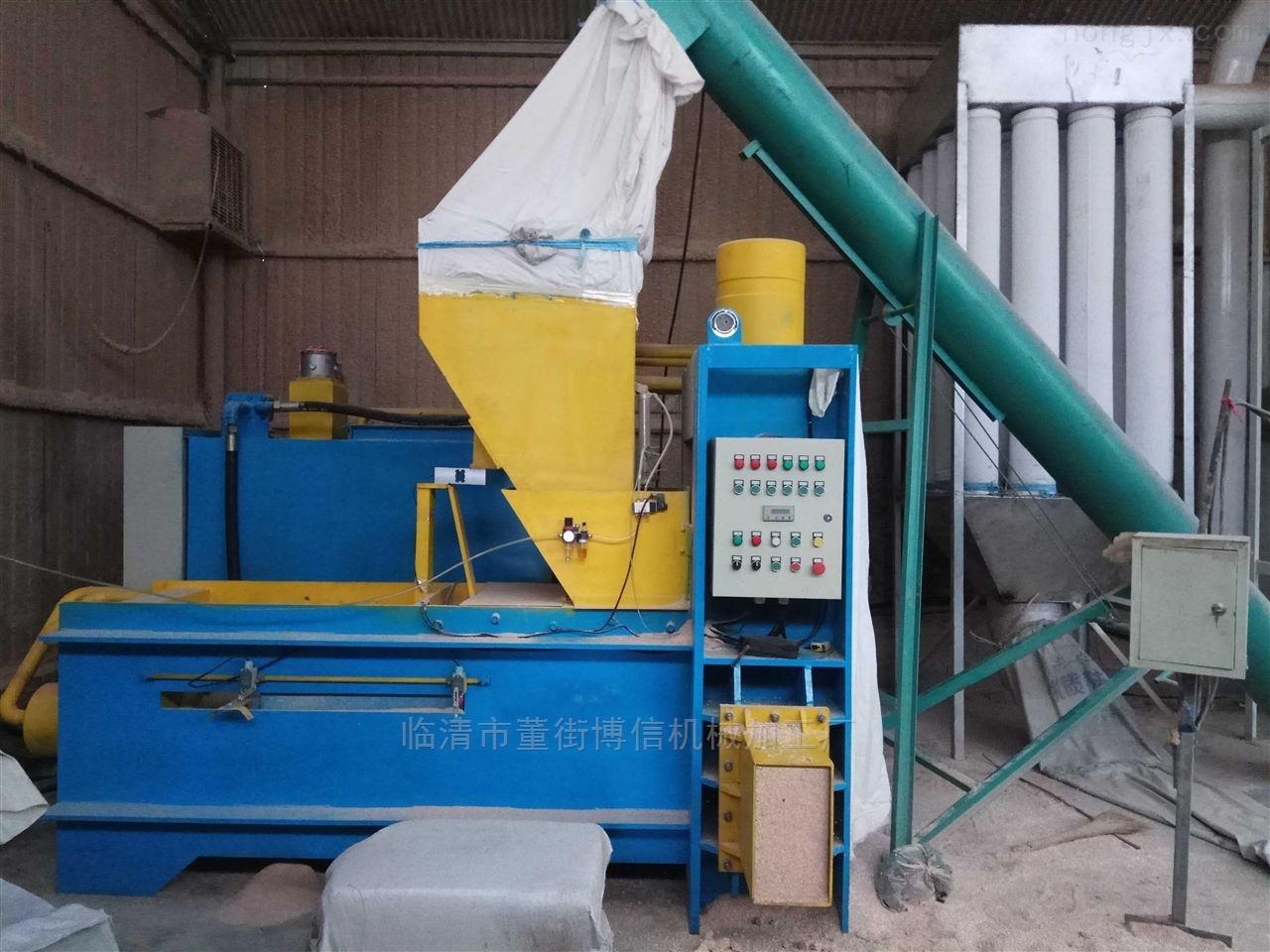 全自动玉米芯颗粒、整芯、锯末、木屑压块机
