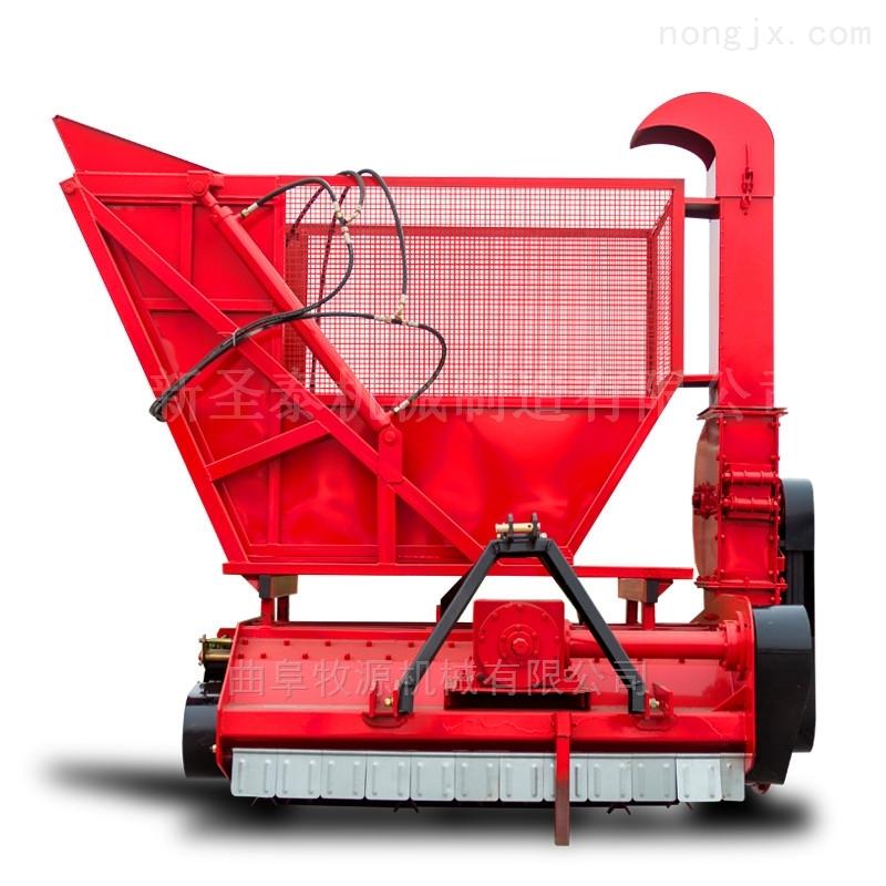 棉花秸秆收割粉碎机,秸秆回收切碎机