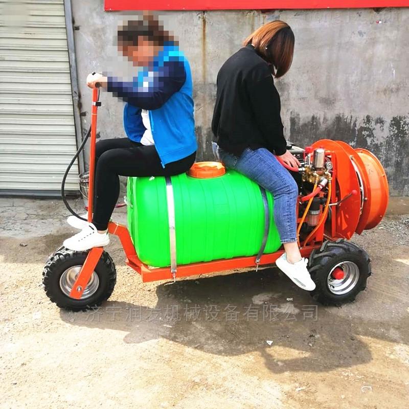 自走式汽油风送打药机喷粉机喷雾机