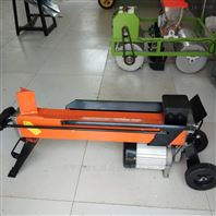 小型卧�缡脚�木机 液压劈柴机