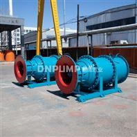 斜式潜水泵_河道排水方案