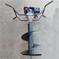 手摇脚踏架汽油挖坑机