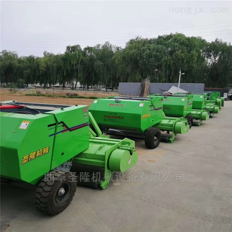 拖拉机悬挂式玉米秸秆粉碎打捆机厂家直销