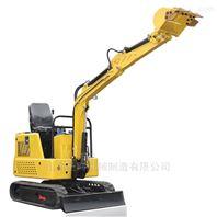 15型机械式农用履带式挖机价格小微型挖掘机
