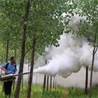 电启动蔬菜棚弥雾机 牛场无死角消毒烟雾机