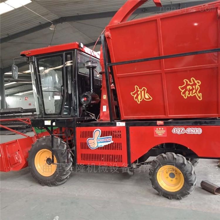 青贮机大型自走式玉米秸秆收获机