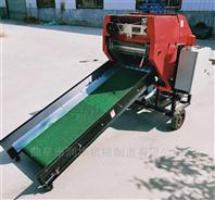 鲜秸秆储存全自动打包机 牧草发酵包膜机