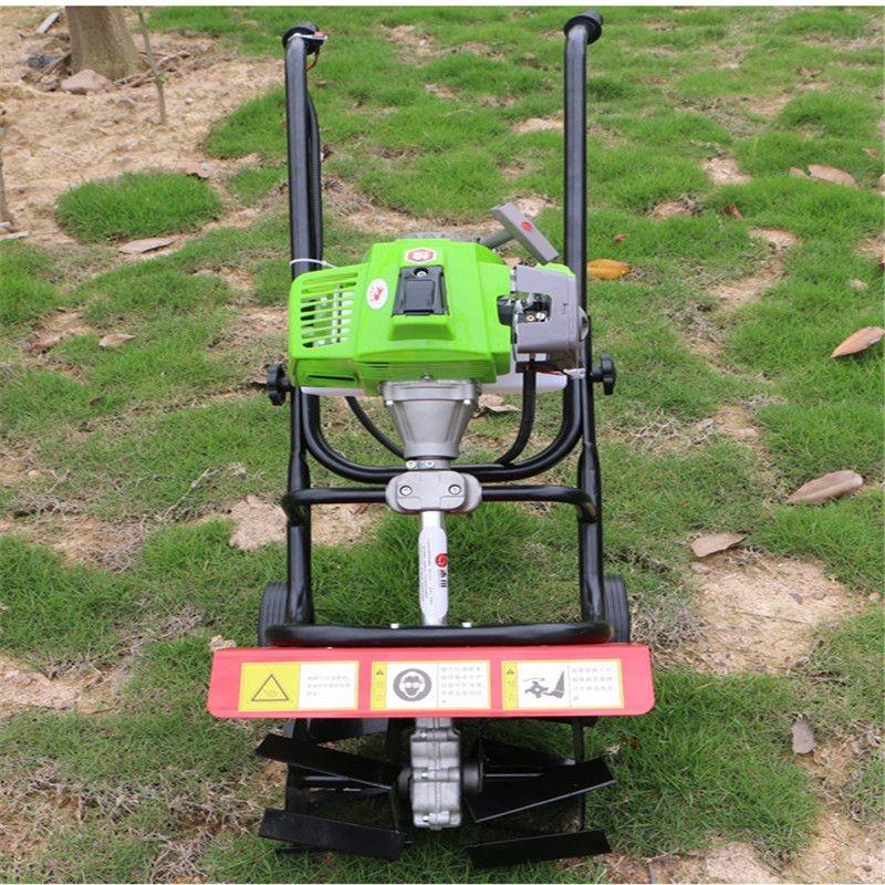 二冲程背负式割草机价格 轻便果园除草机
