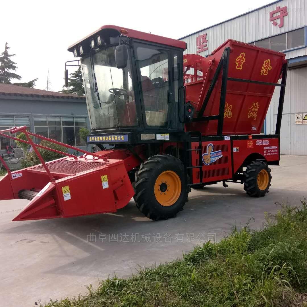 联合式的玉米秸秆青储收获机